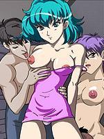 two hentai dick girls