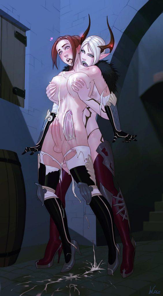 monster girl futanari